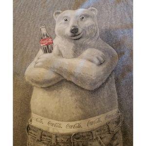 Coke | VTG 90s Macho Sagging 501s Polar Bear
